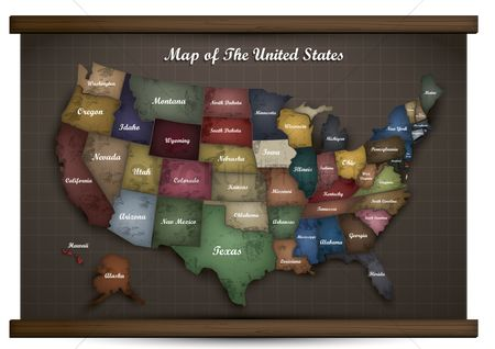New york : Map of united states
