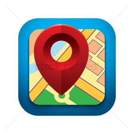 Navigators : Map pointer icon