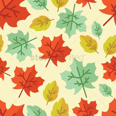 Season : Maple leaves background