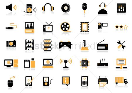 Microphones : Media icons