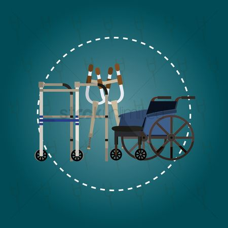 Wheelchair : Medical equipment