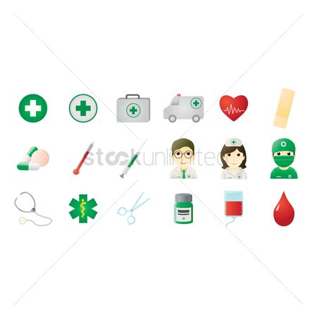 Drips : Medical icons