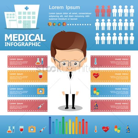 Doctor : Medical infographic