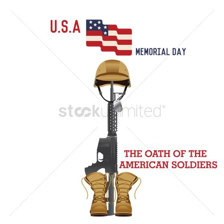 Soldiers : Memorial day