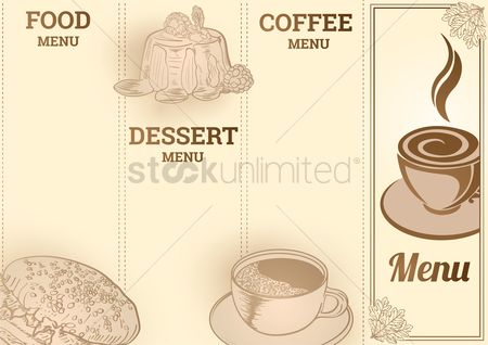 Servings : Menu template