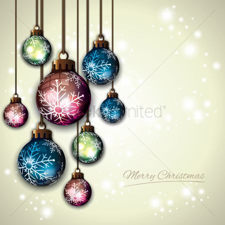 Sparkle : Merry christmas design