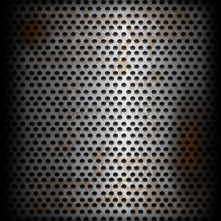 Plates : Metallic texture background