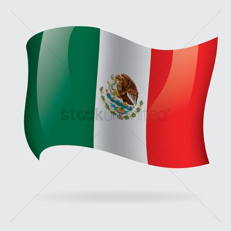 Tricolored : Mexico flag