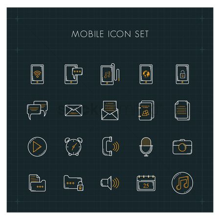 Weeks : Mobile icon set