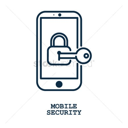 Password : Mobile security concept