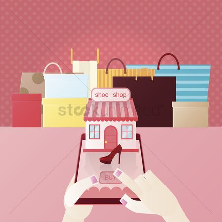 E commerces : Mobile shopping