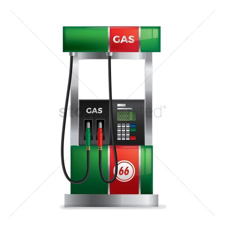 Tanks : Modern gas pump