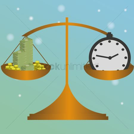 Common balance : Money and time in balance