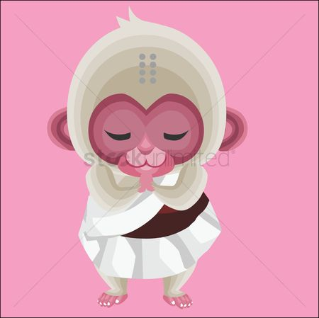 Priest : Monkey as a priest