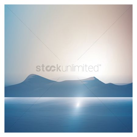 Mountains : Mountain background
