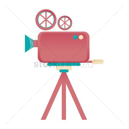 Broadcasting : Movie film camera