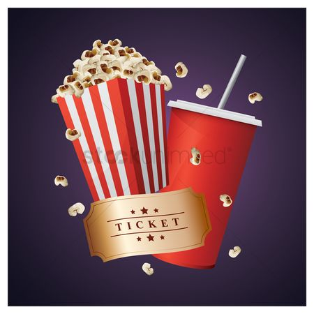Eat : Movie snacks and ticket