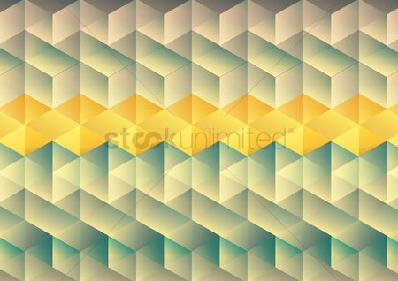 Geometric background : Multi color seamless geometric background