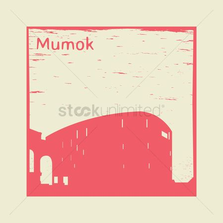 Museums : Mumok rubber stamp