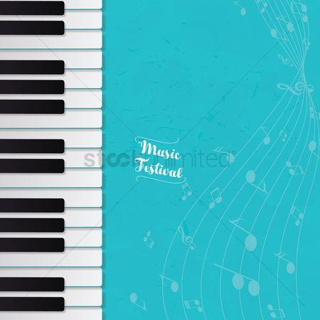 Free Piano Keys Stock Vectors | StockUnlimited