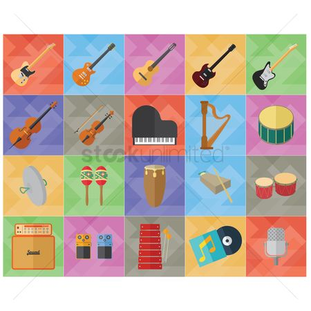 Drums : Music instruments and audio equipment collection