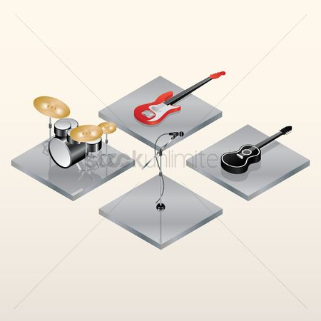 Broadcasting : Musical instruments
