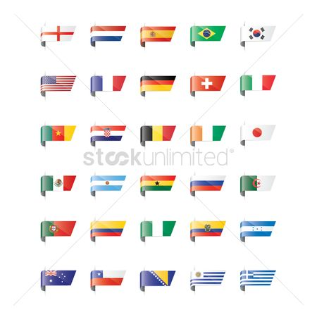 Patriotic : Nation flags