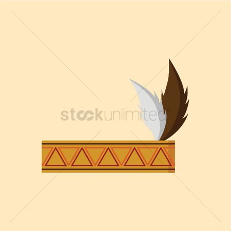 free native american headband stock vectors stockunlimited