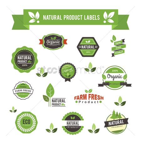 Products : Natural product labels