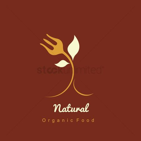 Fork : Nature food icon