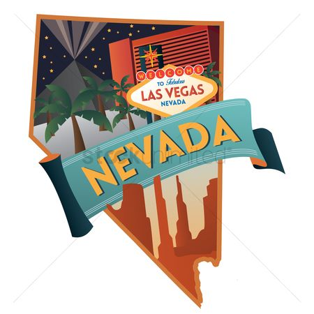 Cartography : Nevada state map
