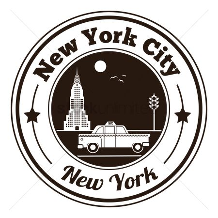 New york : New york city label