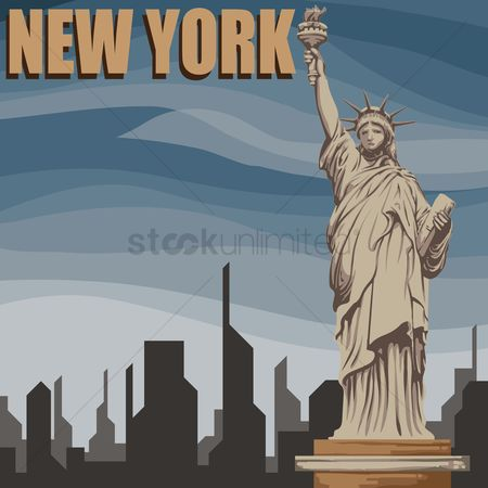 Statues : New york