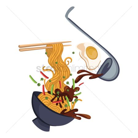 Servings : Noodles exploded view