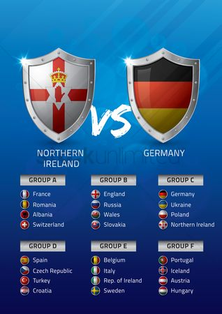 Ukraine : Northern ireland vs germany