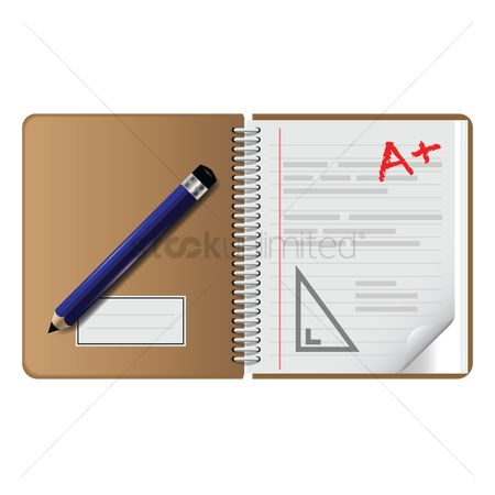 Plus : Notebook with pencil