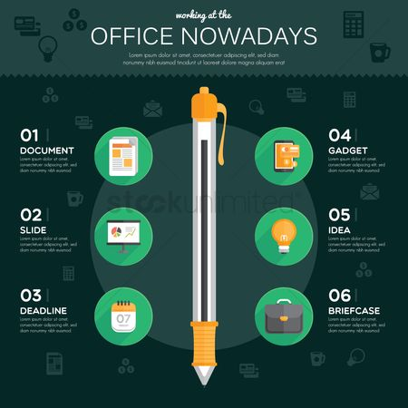 Office : Office infographic