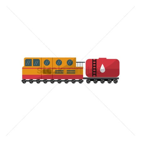 Rail : Oil container