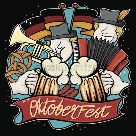 Tricolored : Oktoberfest design