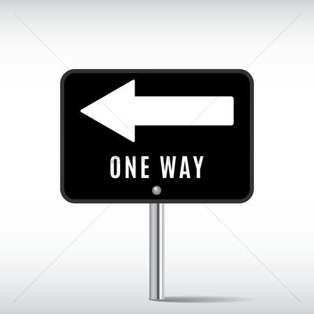 Roadsigns : One way