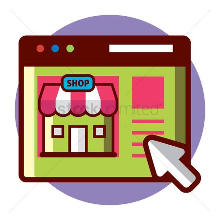 Cursors : Online shopping