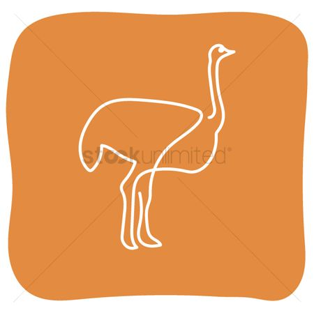 Icons : Ostrich