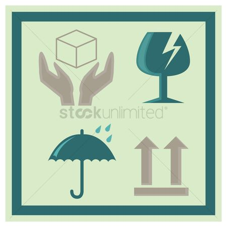 Free Packaging Symbol Stock Vectors | StockUnlimited