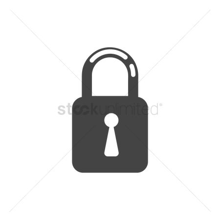 Password : Padlock icon