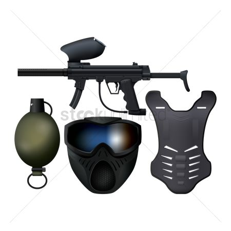 Recreation : Paintball gear