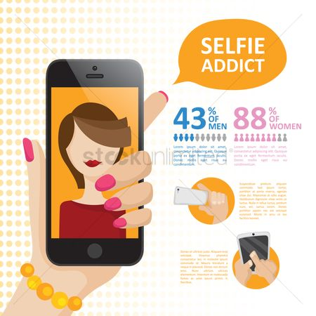 Picture : Pamphlet for selfie addicts