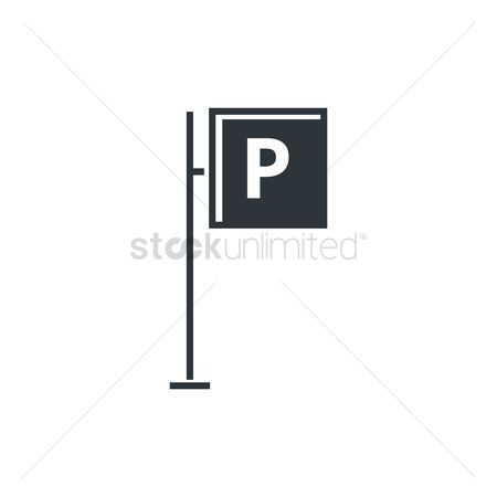 Icons : Parking sign