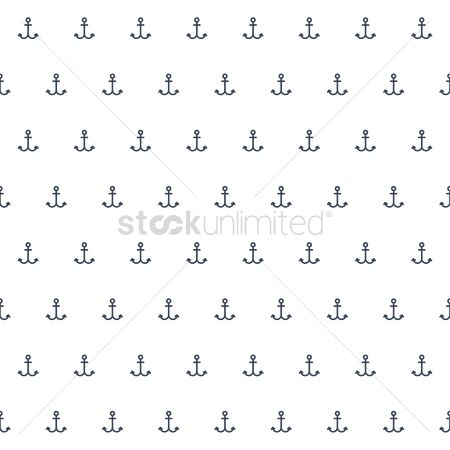 Nautical : Patterned anchor background