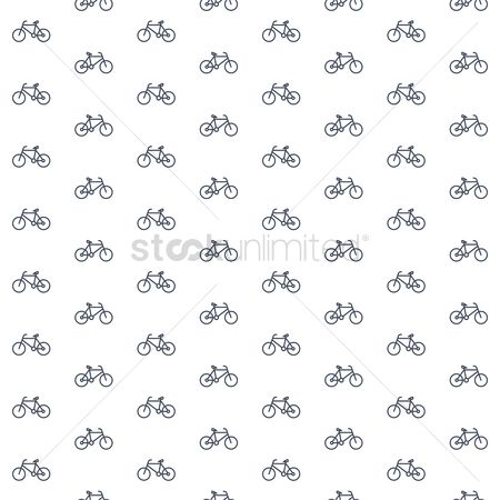 Cycle : Patterned bicycle background