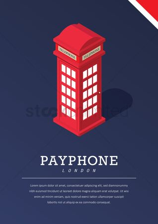 England : Payphone poster